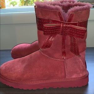 Pink Ugg Boots size 8